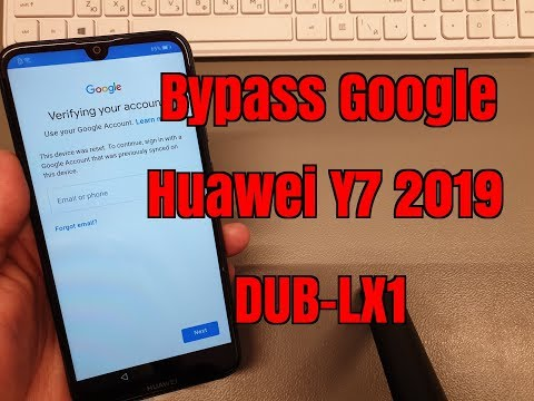 BOOM!!! Huawei Y7 2019 DUB-LX1.Remove Google Account,Bypass FRP.