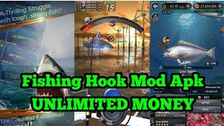 Gambar cover Fishing Hook (Kail Pancing) Mod Apk Unlimited Money