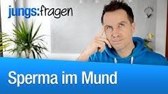 Sperma im Mund! Krank? | jungsfragen.de