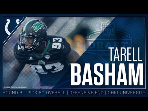 Tarell Basham Welcome to the Colts 2017