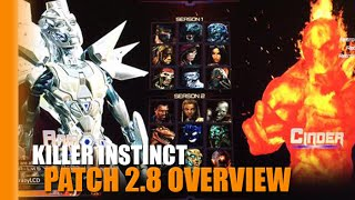 KI Patch 2.7 Overview | Aria, Shadows, Retro Cinder & More