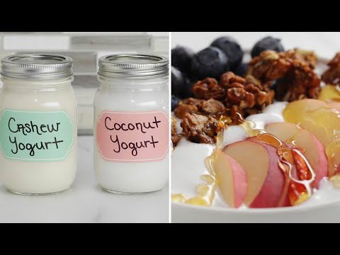 Dairy-Free Yogurt 2 Ways