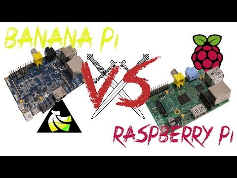 Banana Pi VS Raspberry Pi