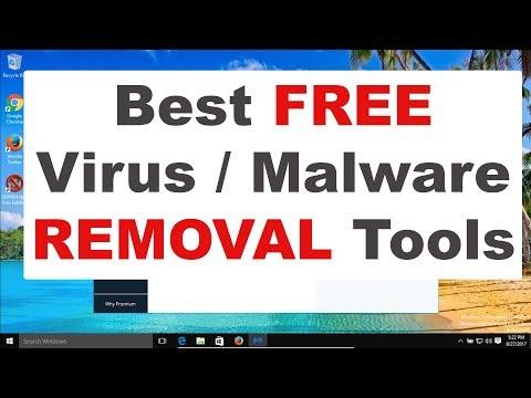 Best Free Malware / Virus Removal Tools 2017