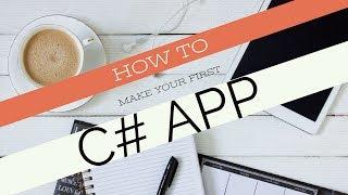 Comment Faire Une Console C# App