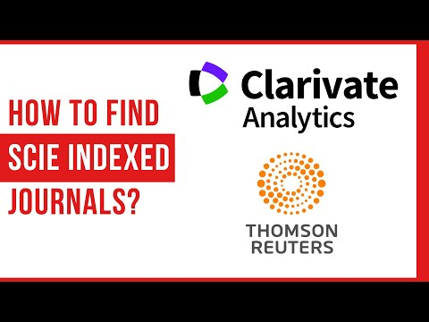 How To Find SCIE Indexed Journals? | WoS | ILovePhD