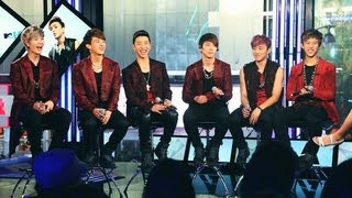 MTV K Presents B.A.P Live in NYC: FAN Q&A