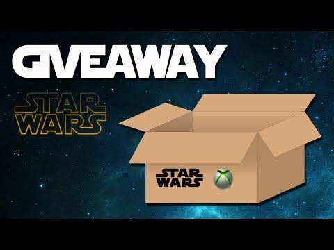 Star Wars & Xbox Unboxing + Giveaway! Ganador del Sorteo