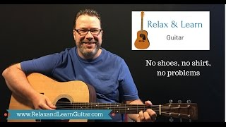 "How to play ""no shirt, no shoes, no problem"" by Kenny Chesney (Lesson by Relax and Learn Guitar)"