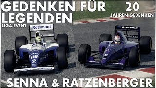 20 jahriger todestag ayrton senna roland ratzenberger f1 2013 classic 001