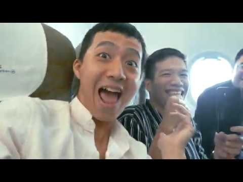 Review đồ ăn nhẹ VietnamAirlines