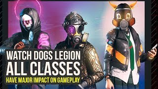 Watch Dogs Legion Gameplay - All Classes, Abilities, Perks & Way More (Watch Dogs 3 Legion)