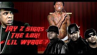 jay z signs the lox jadakiss styles sheek rocnation album 12 16 wayne next   jordantowernews