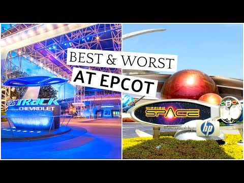 BEST & WORST ATTRACTIONS IN EPCOT! | Lizzie Gines