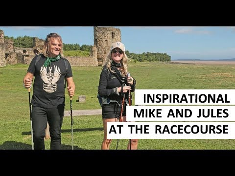 Inspirational! Jules & Mike Peters at The Racecourse