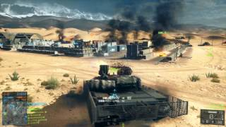 "Battlefield 4 ""China Rising"" - Silk Road Tank Full Round Gameplay (53-0)"