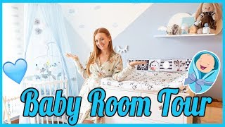 РУМ ТУР ДЕТСКАЯ КОМНАТА! BABY BOY NURSERY TOUR! | MAKEUPKATY