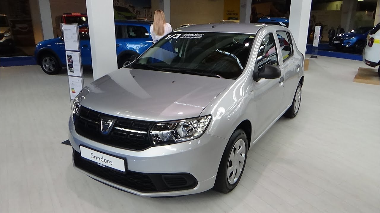 2018 dacia sandero ambiance 1 0 sce 75 exterior and. Black Bedroom Furniture Sets. Home Design Ideas