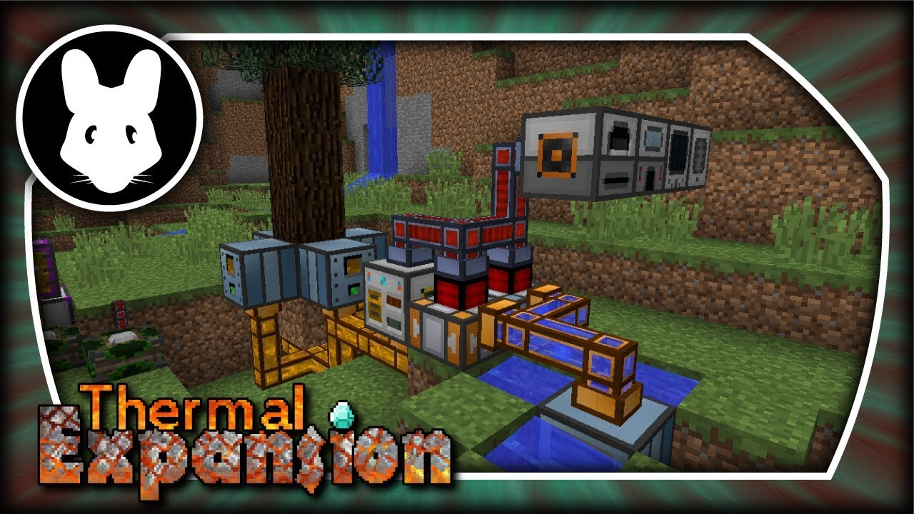 Thermal Expansion: Infinite Renewable Energy Early Game! Minecraft 1 10+