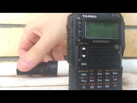 Yaesu VX-8DR work with CB (Citizen`s Band)