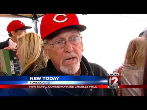 Crosley mural honors Reds baseball history