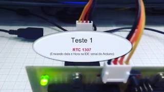 Zeus tem RTC 1307 - enviando data e hora para serial da IDE do Arduino