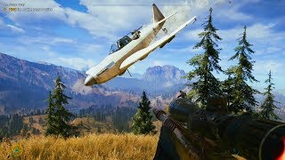 Far Cry 5: Epic High Action Moments & Stealth Hideout Clearing Gameplay - Compilation Vol.4