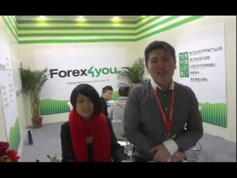 Forex4you at Money Fair 2012 in Shanghai