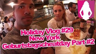Geburtstag in New York - Cheat Day #2 - Holiday Vlog 29 - Alina privat | www.size-zero.de