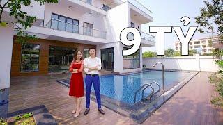Khá Phá Biệt Thự Hiện Đại CÓ BỂ BƠI Đẹp | Villa Ông Tú - Hải Dương