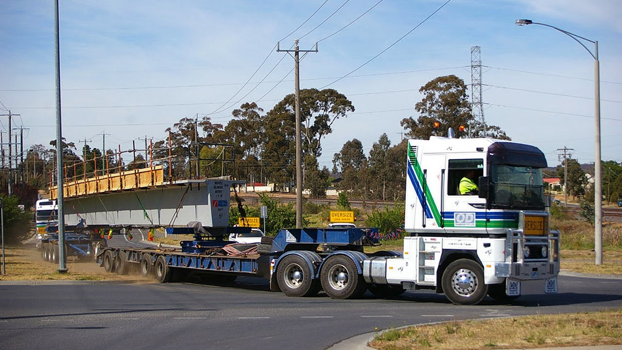 Big Loads  Od Transport Mack Magnum   Renault    U0026 Kenworth