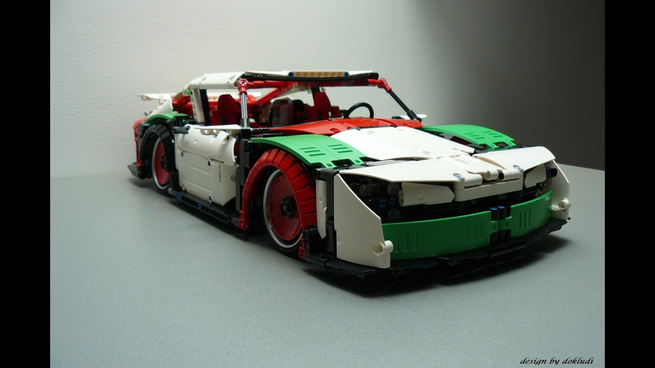 Lego Technic Porsche 911 Mission E Wide Body Edition Rebrick Xtd