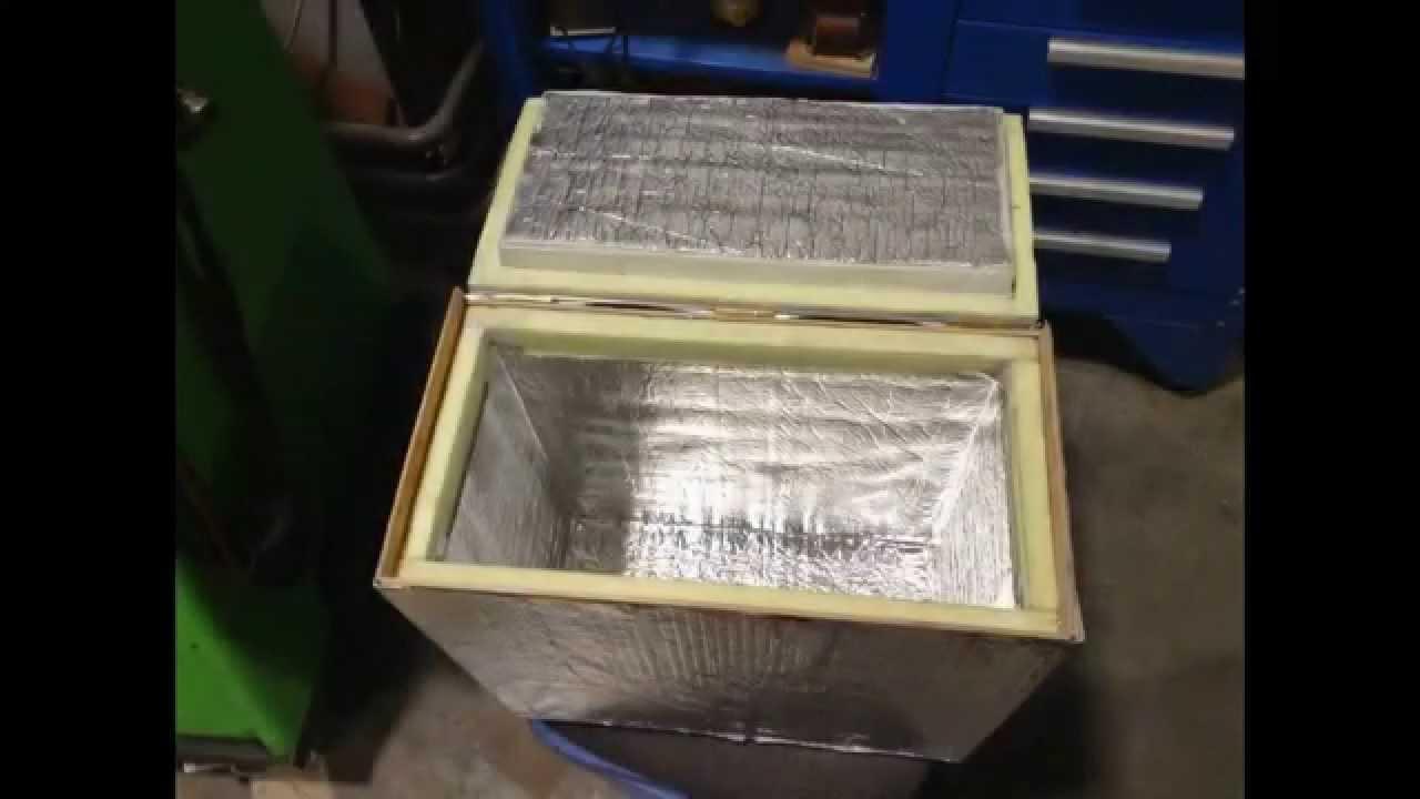 Термоящики из пенопласта своими руками