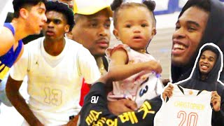 Josh Christopher TAKES OVER & TRASH TALKS in RIVALRY GAME! YG & Nick Young Pull-Up! | PLAYER LOCK 1