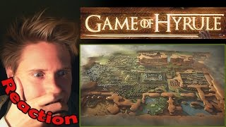 Game of Hyrule - Legend of Zelda, Game of Thrones - Opening REACTION! | O...MG! |