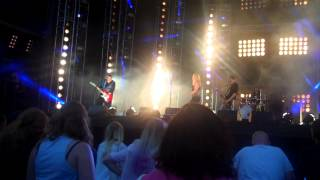 Midnight Blues Train - MTV Crashes Plymouth stage - Plymouth Hoe 16/07/14