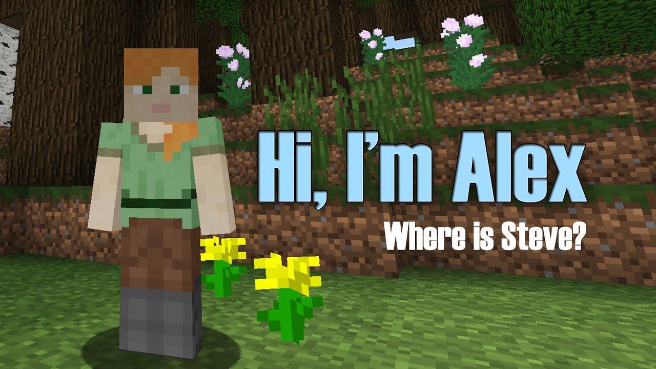 Minecraft Alex Skin Youtube