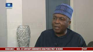 Alleged Dissent Over Choice Of VP Within PDP Governors A 'Propaganda' - Saraki