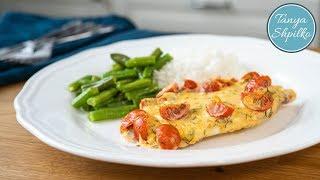Рыба (Тилапия) под Сырным Соусом в духовке | просто и быстро | Baked Tilapia | Tanya Shpilko