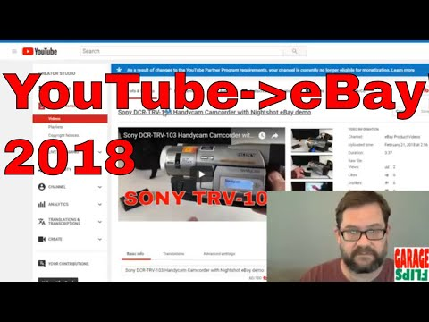 How to add YouTube Video to eBay Listings 2018 - using FlipperTools Converter
