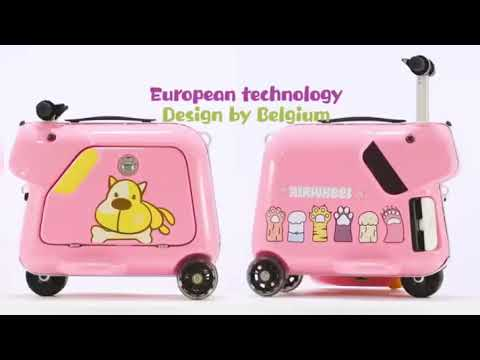 2020 Electric Suitcase Scooter For Kids 15L 5kmh Lithium Battery
