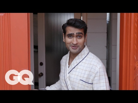 Kumail Nanjiani Take Us on a Tour of His Mansion That He Totally Owns  GQ