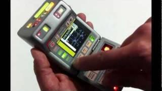Star Trek DS9 & Voyager LCD Medical & Science Mark IX, X Tricorder prop