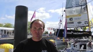 Ambiance sur les pontons à Deauville