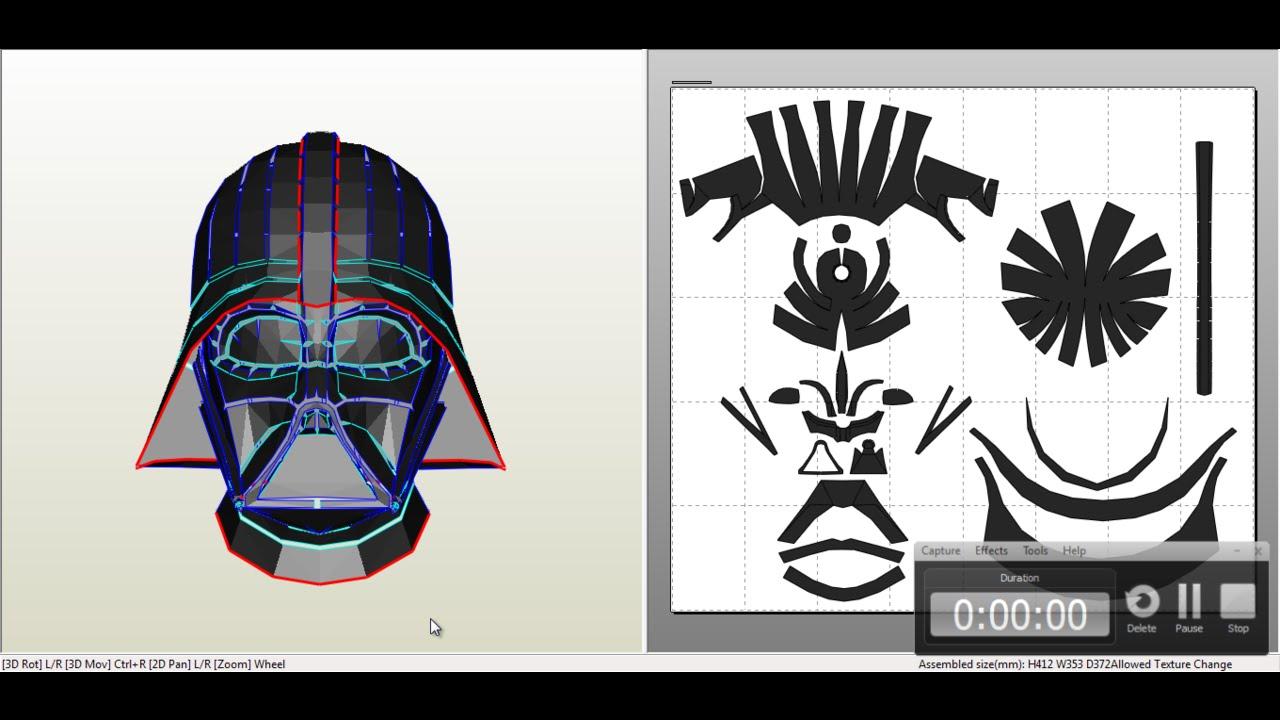Bonito Página Para Colorear De Darth Vader Casco Modelo - Dibujos ...