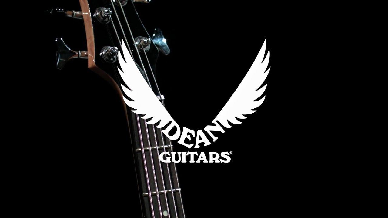 dean edge 1 5 string bass guitar classic black gear4music demo youtube. Black Bedroom Furniture Sets. Home Design Ideas