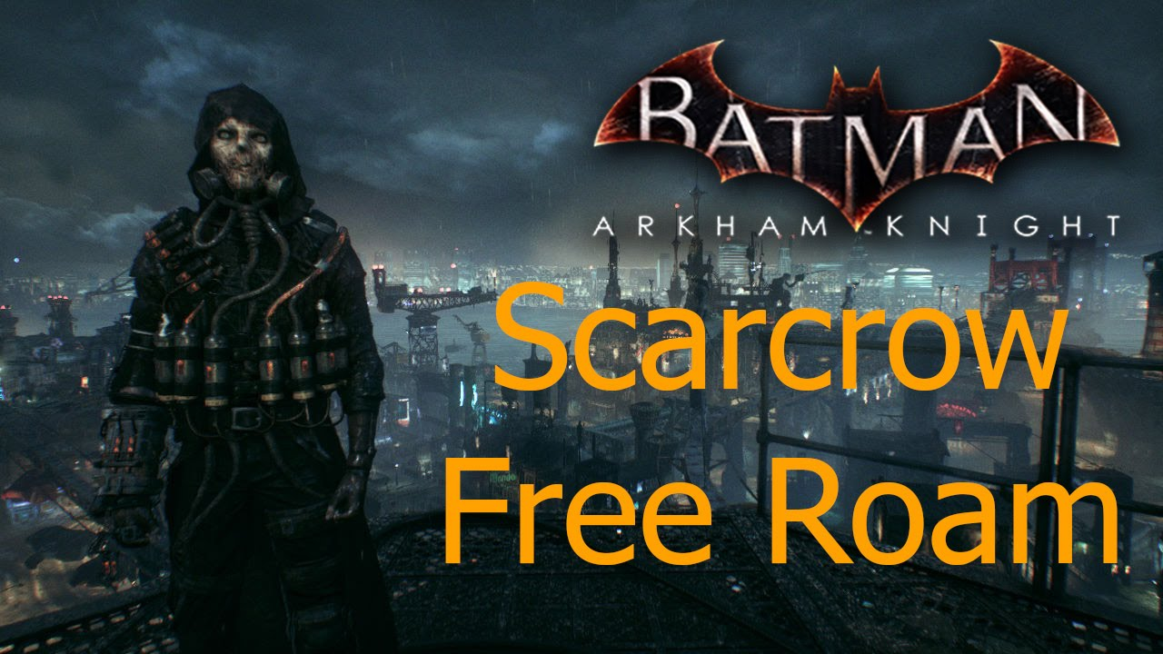 batman the game free roam