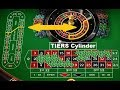 Roulette Tricks to win more with TIERS of CYLINDER plus straight and split bets strategy.