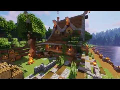 Minecraft Timelapse | Lake House