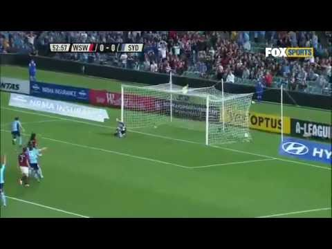 Alessandro Del Piero Penalty Sydney FC vs Western Sydney Wanderers (Second Official Gol)